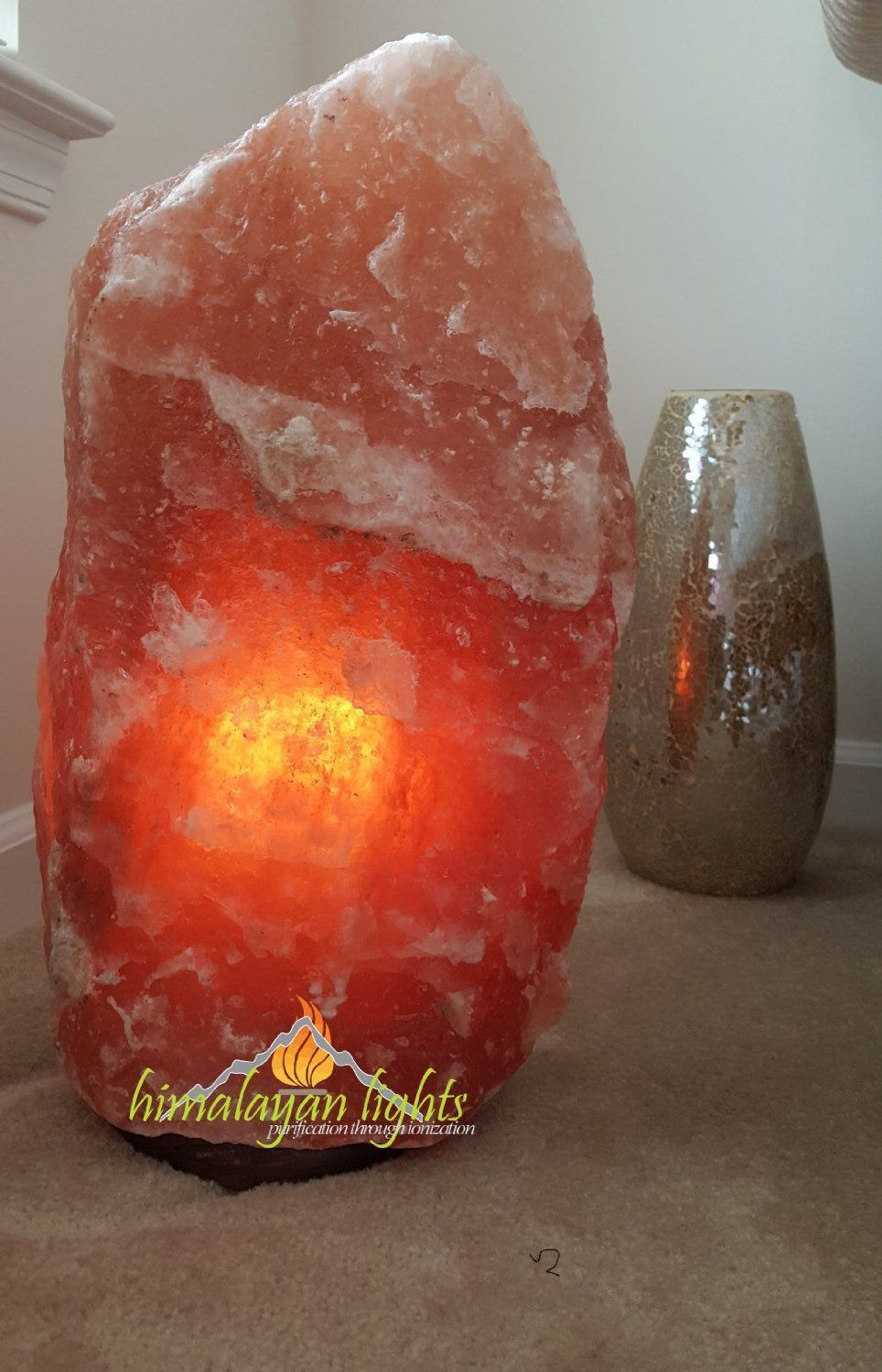 Larger Himalayan Salt Lamps Negative Ionizers