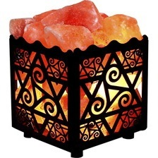 Square Salt Lamp